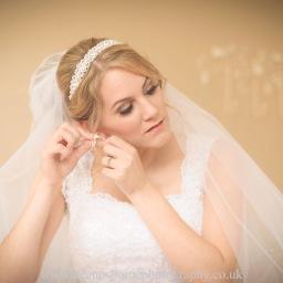 Amazing Lashes on Bride