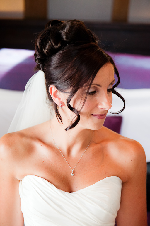 classic bridal makeup by Kelli Waldock