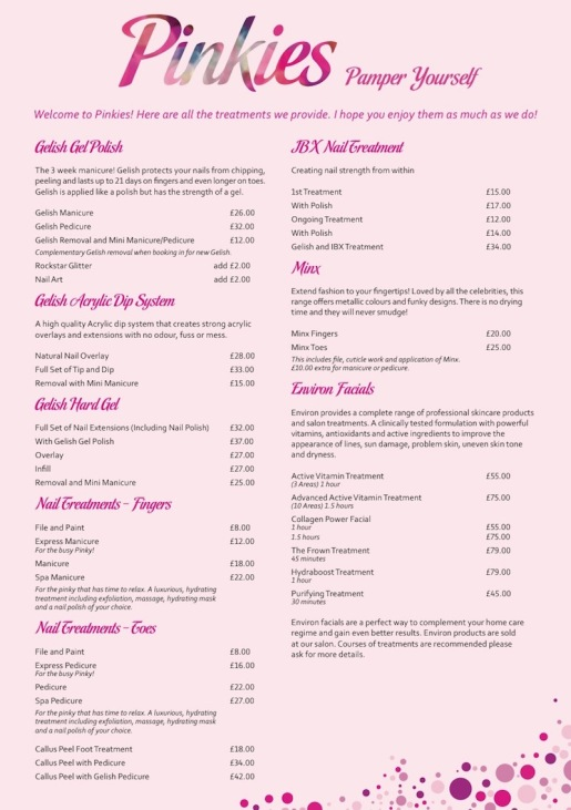Page 1 Price List