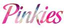 Pinkies salon logo nails