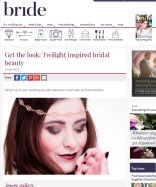 twilight bridal make-up