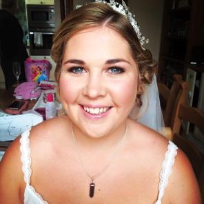 sparkly bride