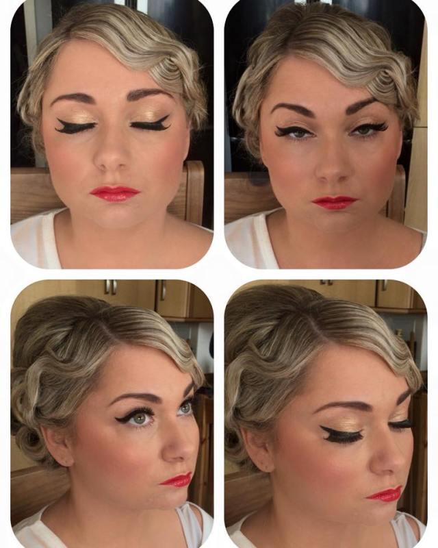 Kelli Waldock vintage makeup