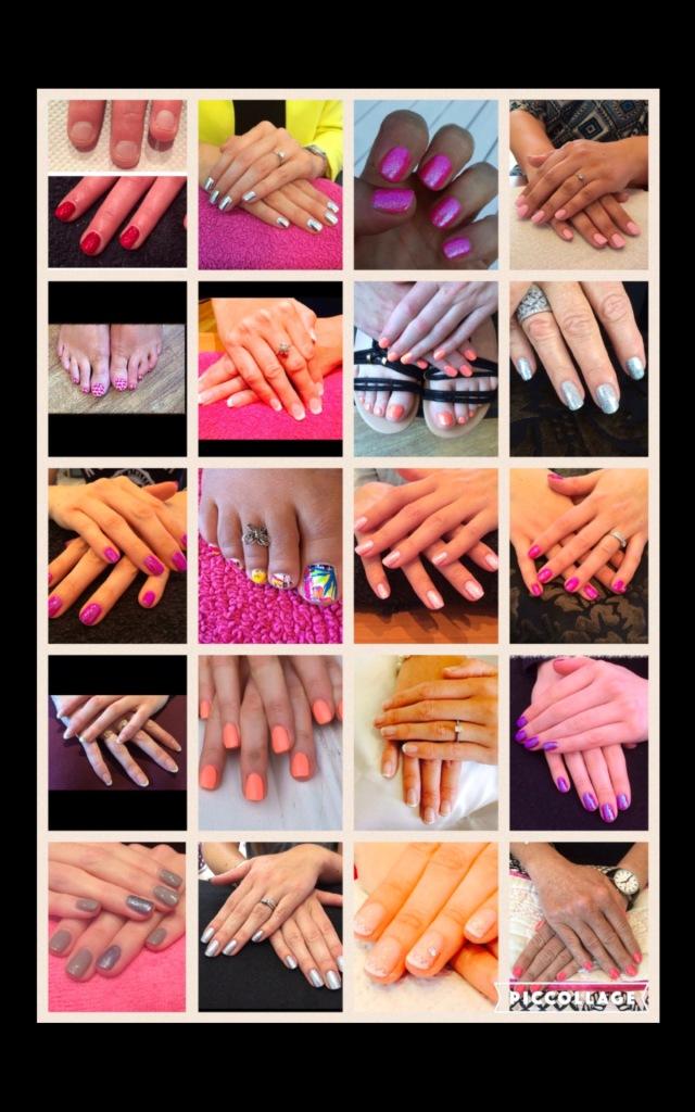 Kelli Waldock Nails Minx nails