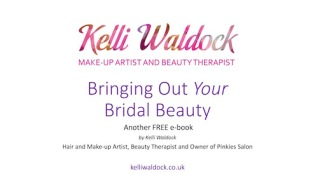 bringing our bridal beauty Kelli Waldock
