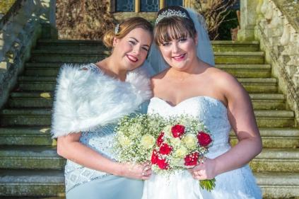 Kelli Walldock Bridal party