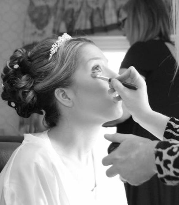 Bridal hair and makeup Kent