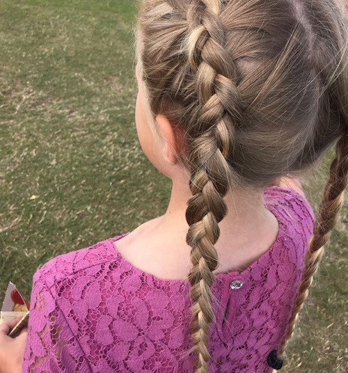 Sept 1 braids for kids