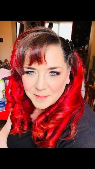 redheaded bride